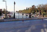 Fikirtepe'deki Kurbağalıdere Köprüsü yenileniyor