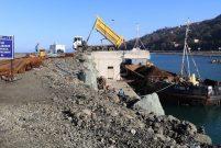Rize-Artvin Havalimanı için 5 milyon ton taş kullanıldı