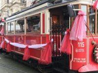 Nostaljik tramvay seferleri yeniden başladı