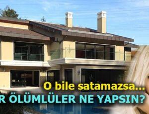 Ajda Pekkan Bahçeköy'deki villasının fiyatını düşürdü