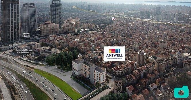 Antwell Life Care Residence, alanında Türkiye'nin ilki olacak