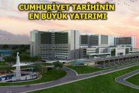 İzmir Bayraklı Entegre Sağlık Kampüsü hızla yükseliyor