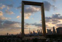 Dubai'ye 250 milyon liralık boş çerçeve dikildi