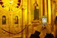 Demir Kilise'ye ziyaretçi ilgisi