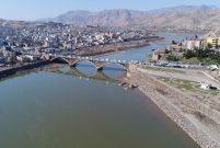 Dicle Nehri etrafındaki çalışma tamamlandı