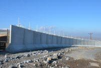 Türkiye-İran sınırındaki duvarın yüzde 50'si tamamlandı