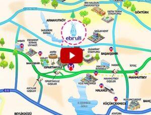 Ebruli Ispartakule 724 konutta 7/24 yaşam konforu sunuyor