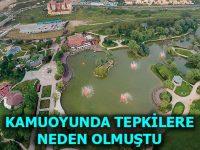 Bakanlık Gölet Projesi'nin yeni planlarını askıya aldı