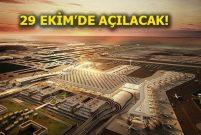 Yeni Havalimanı için uluslararası bildirimler yapıldı