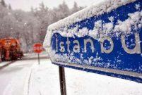 İstanbul'da beklenen kar yağışı başlıyor
