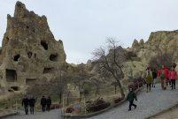 Kapadokya'ya gelen turist sayısı 2017'de yüzde 48 arttı