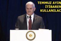 Başbakan Yıldırım Türkiye Kart'ı tanıttı