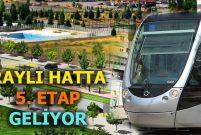 Kayseri'deki 5.5 km'lik Anayurt Hattı 2019'da hizmette