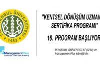 Kentsel Dönüşüm Uzmanlık Sertifika Programı başlıyor
