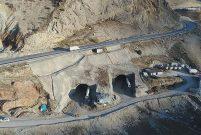Kop Dağı Tüneli inşaatında yüzde 50'ye ulaşıldı