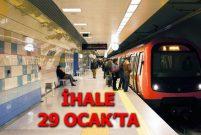 İstanbul'a 60 km'lik yeni metro hattı geliyor