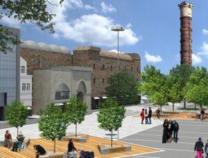 Tarihi Beyazıt Meydanı tamamlandığında böyle olacak