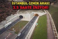 Gebze-Orhangazi-İzmir Otoyolu'nda sona gelindi