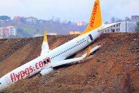 Trabzon'da düşen uçak kütüphane olsun