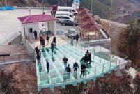 Türkiye'nin en yüksek cam seyir terası açıldı