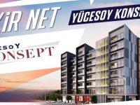 Yücesoy Konsept İzmir'de 219 bin TL'ye 1+1 daire