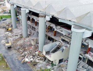 Abdi İpekçi Spor Salonu yıkımında asbest tehlikesi