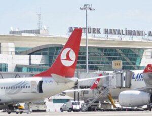 Atatürk Havalimanı günlük kalkışta üçüncü