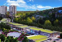Göletteki projenin ismi Bahçeşehirpark Cadde olacak!