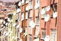 Balkonlardaki çanak antene yasak geliyor