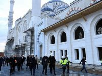 İBB Başkanı Uysal Çamlıca Camisi inşaatını inceledi