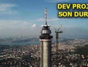 Küçük Çamlıca TV-Radyo Kulesi bu sene bitiyor