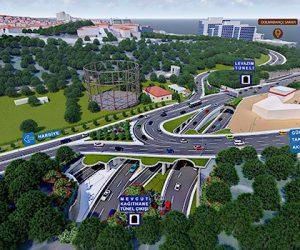 Dolmabahçe Levazım Tüneli nereye hizmet verecek?
