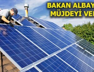 Çatıda üretilen elektriğe vergi ödenmeyecek