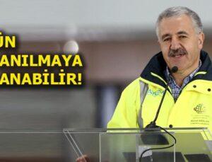 Bakan Arslan'dan 3.Havalimanı ile ilgili flaş açıklamalar
