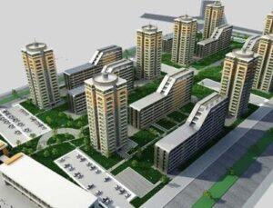 Antalya Büyükşehir Güneş Mahallesi'nde yeni bir kent kuruyor
