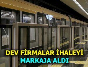 Gebze Metro Hattı ihalesine yoğun ilgi