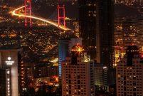 İstanbul'un en yüksek binası Sapphire'den muhteşem manzaralar