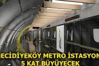 Kabataş-Mecidiyeköy-Mahmutbey hattında sona yaklaşıldı