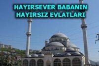 Trabzon'da camiyi icraya verdiler