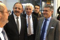 Bakan Özhaseki ISK-Sodex'te Ode Yalıtım standını ziyaret etti