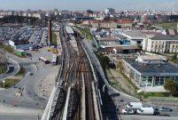 Halkalı-Sirkeci tren hattındaki son durum görüntülendi