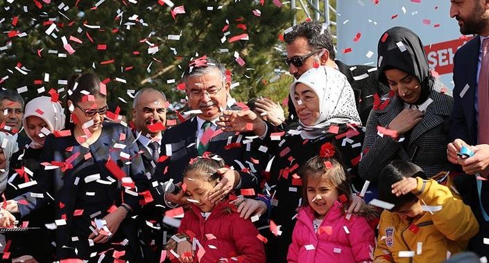 81 İl 81 Anaokulu kapsamında Sivas'ta anaokulu açıldı