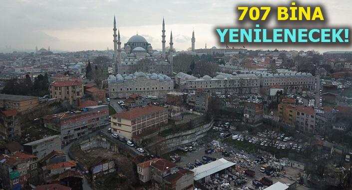 Süleymaniye'de yenileme çalışmaları başlıyor