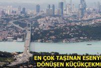 İstanbul Avrupa Yakası 2017'de 610 bin kez taşındı