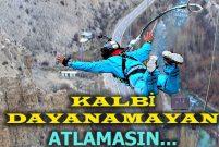 Erzurum Uzundere ekstrem sporcularının son gözdesi oldu