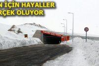 Van-Bahçesaray Tünel Projesi onaylandı
