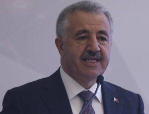 Bakan Arslan: Karayollarımızı akıllı hale getiriyoruz