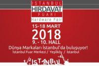İstanbul Hırdavat Fuarı 15 Mart'ta kapılarını açıyor