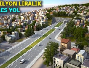 İzmir'in en uzun tünelinde kazı çalışmaları başladı