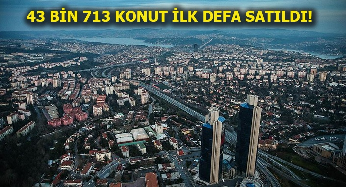 Türkiye genelinde şubat ayında 95 bin 953 konut satıldı